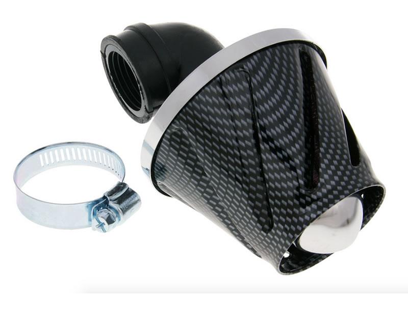 Peugeot Speedfight 2 100 Helix Power Air Filter 28-35mm Carbon